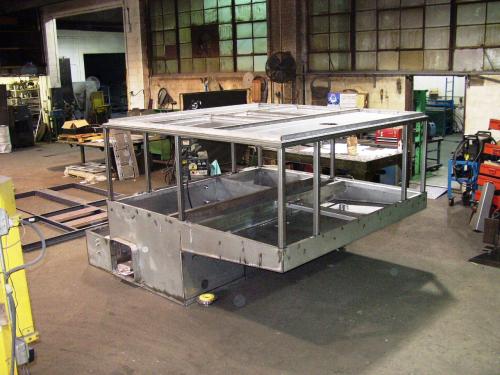 Cabinet Frame Assembled